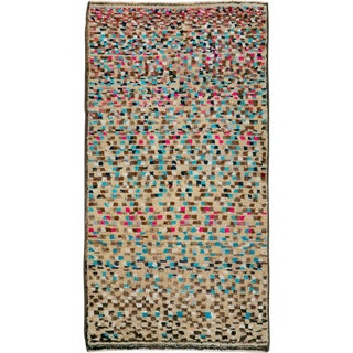 """Vintage Persian Gabbeh Rug – Size: 2' 2"""" X 4'2"""" For Sale"""