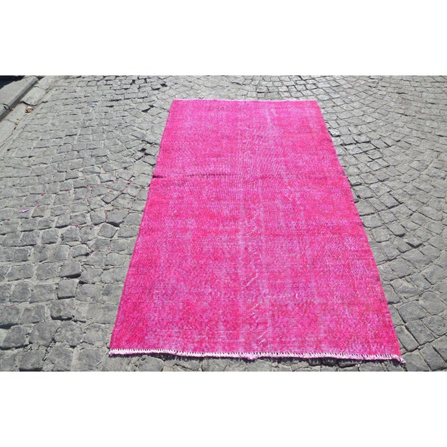 Turkish Floor Rug- 3′10″ × 6′11″ - Image 2 of 6