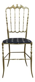 Image of Navy Blue Side Chairs