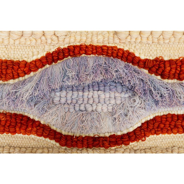 Margo O'Connor California Fiber Arts Wall Hanging by Margo O'Connor For Sale - Image 4 of 8