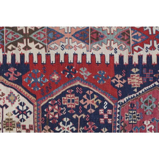 "Antique Turkish Kilim - 5'4"" x 12'6"" - Image 4 of 4"