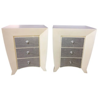 Dakota Jackson End Tables - A Pair For Sale