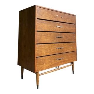 Mid Century Modern High Boy Dresser by Lane Furniture Co. For Sale
