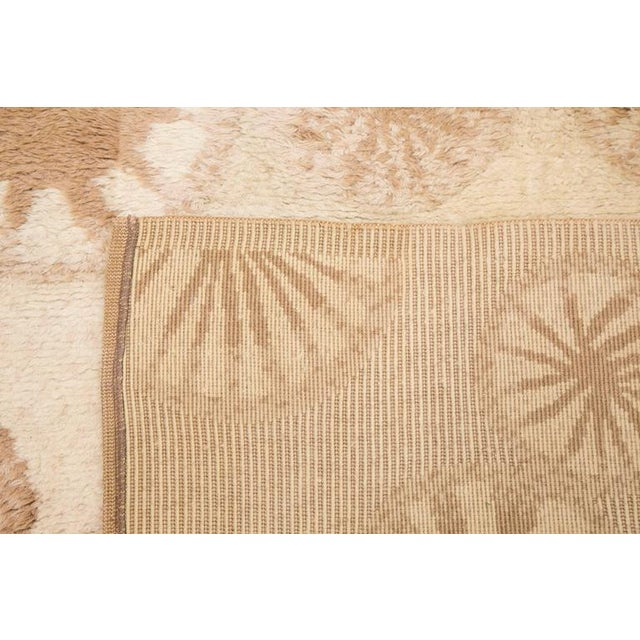 Rare and Decorative Cogolin Wool Carpet, France, 1970 For Sale - Image 10 of 11