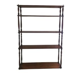19th Century English Mahogany Shelves For Sale