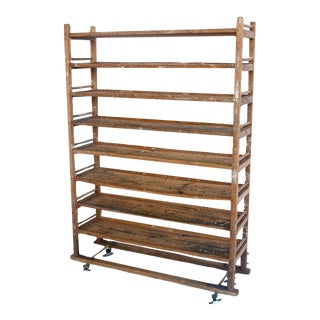 Antique Bakery Wooden Shelves