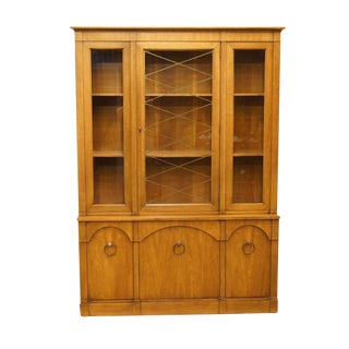 Late 20th Century Furniture Italian Provincial China Cabinet For Sale