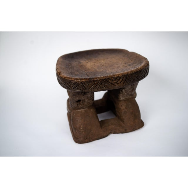 Swell Early 20Th Century Hand Carved Wooden African X Stool Gmtry Best Dining Table And Chair Ideas Images Gmtryco