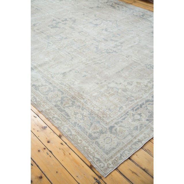 "Distressed Oushak Carpet - 8'9"" X 12'2"" - Image 6 of 10"