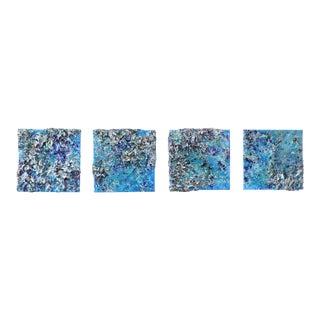 """The Earth LVIII - 1,2,3,4"" Original Artwork by Victoria Kovalenchikova For Sale"
