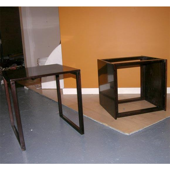 Danish Rosewood Cube of Nesting Tables - Set of 3 For Sale In New York - Image 6 of 7