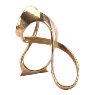 "Late 20th Century ""Tidal Rhythm"" Bill Keating Bronze Sculpture For Sale"