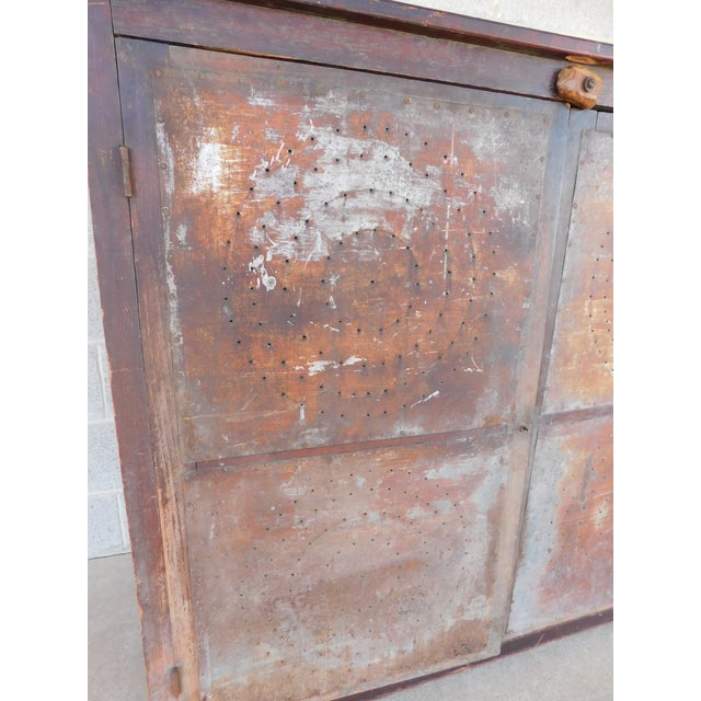 Antique 19th Century 2 Door Pie Safe For Sale - Image 10 of 13
