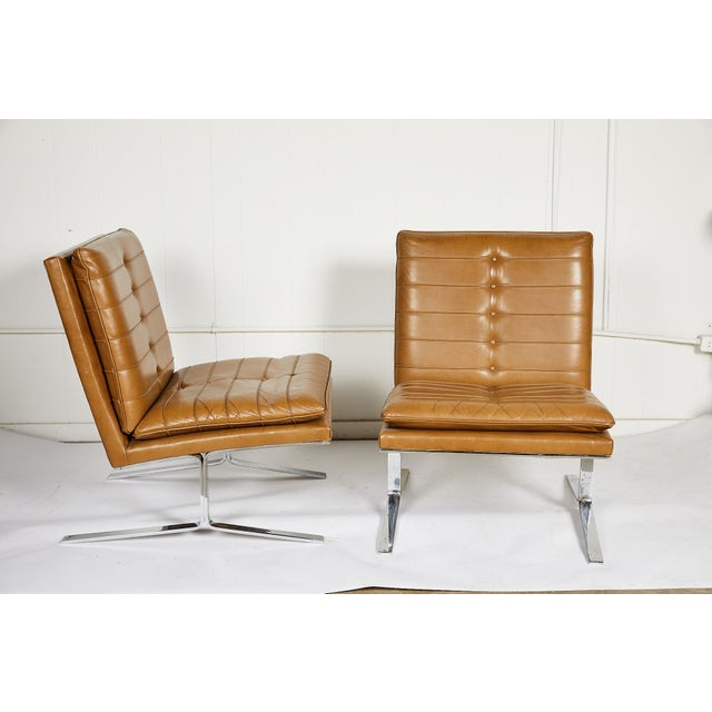 Pair of Midcentury Lounge Chairs For Sale - Image 13 of 13