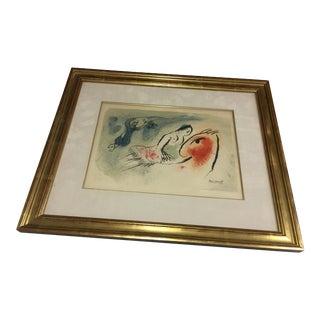 Marc Chagall Le Petite Ecuyere Lithograph For Sale