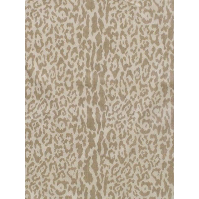 Scalamandre Snow Leopard, Winter White Fabric For Sale
