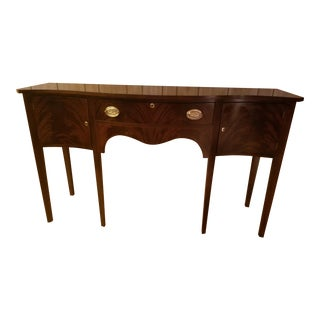 Madison Square Flame Mahogany Sideboard / Buffet For Sale