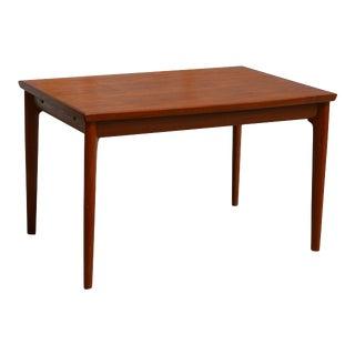 Danish Modern Teak Dining Table by Henning Kjaernulf For Sale