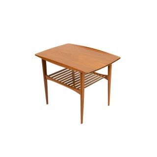 1950's Vintage Tove and Edvard Kindt-Larsen Solid Teak Side Table