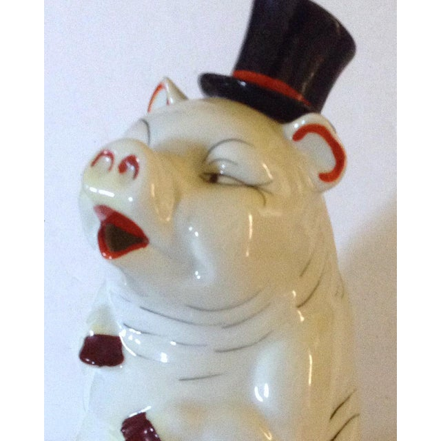 Pig Decanter For Sale - Image 5 of 6