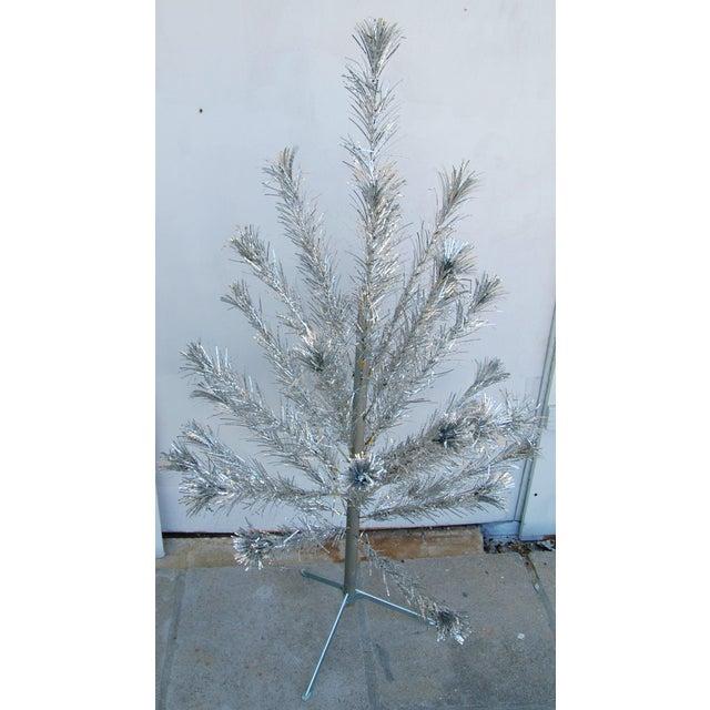 Mid-Century Atomic Style Aluminum Christmas Tree - Image 3 of 11