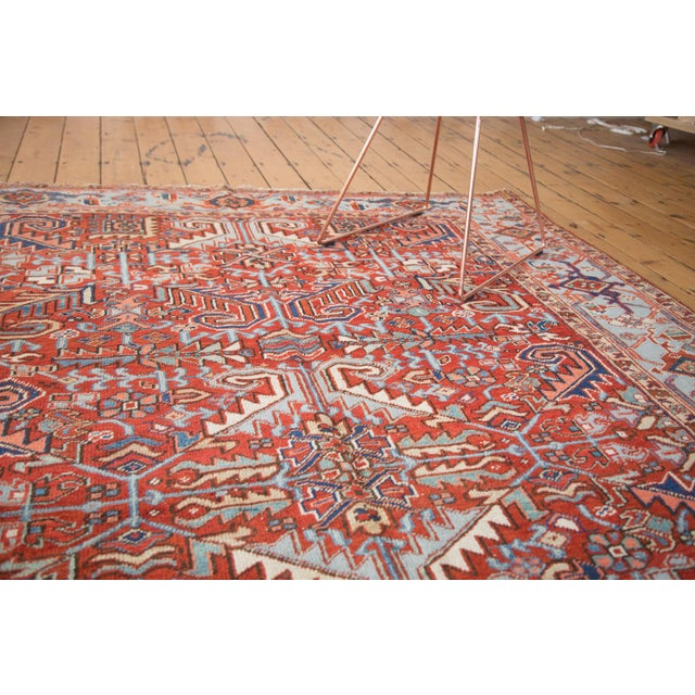 "Vintage Heriz Carpet - 6'11"" X 9'7"" - Image 4 of 8"