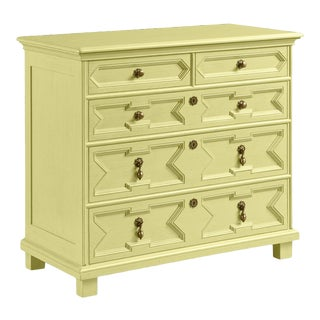 James Chest of Drawers, Pale Avocado For Sale