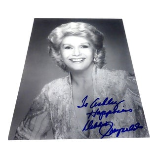 Autographed Vintage Photo of Debby Reynolds For Sale
