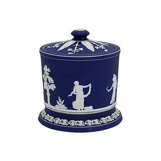 Antique English Jasperware Ice Bucket Preview