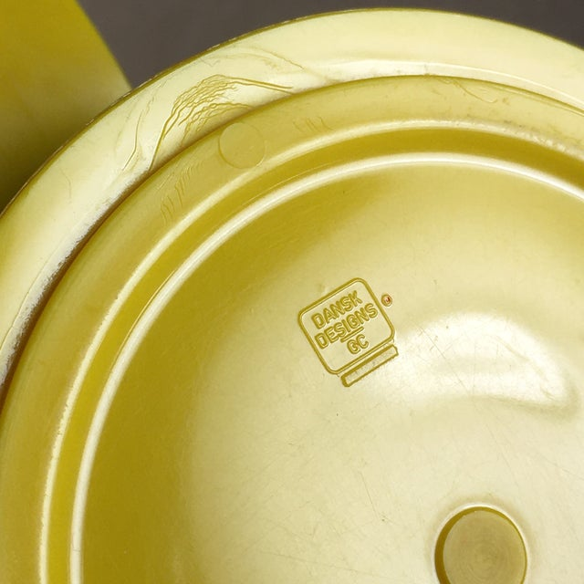 Vintage Dansk Designs Gunnar Cyren Yellow Handle Mugs - Set of 4 For Sale In Chicago - Image 6 of 8