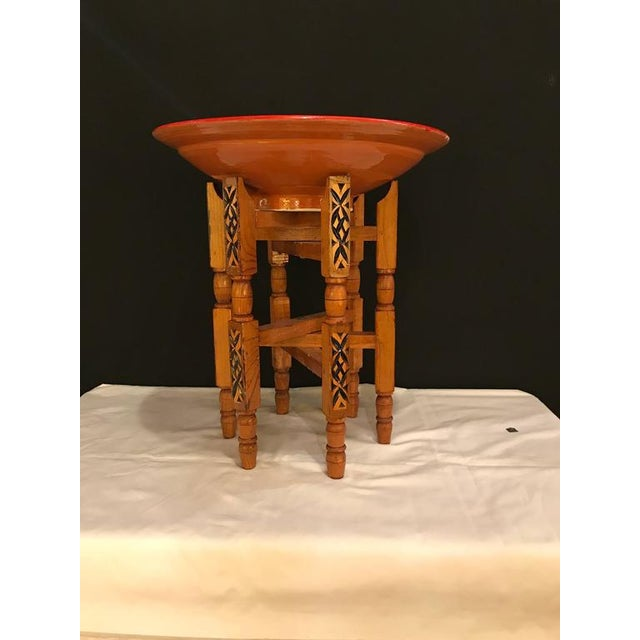 Hand-Carved Wood Tray Legs For Sale - Image 4 of 11