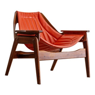 Mid Century Modern Jerry Johnson Triumph I Sling Chair For Sale