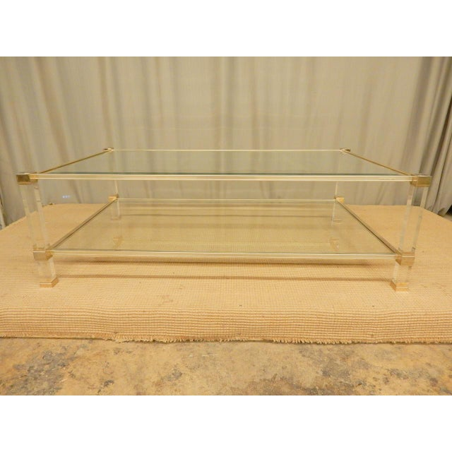 Mid-Century Modern Pierre Vandel Coffee Table. Circa 1970s.
