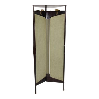 Mid Century Modern Italian Coatrack Room Divider For Sale