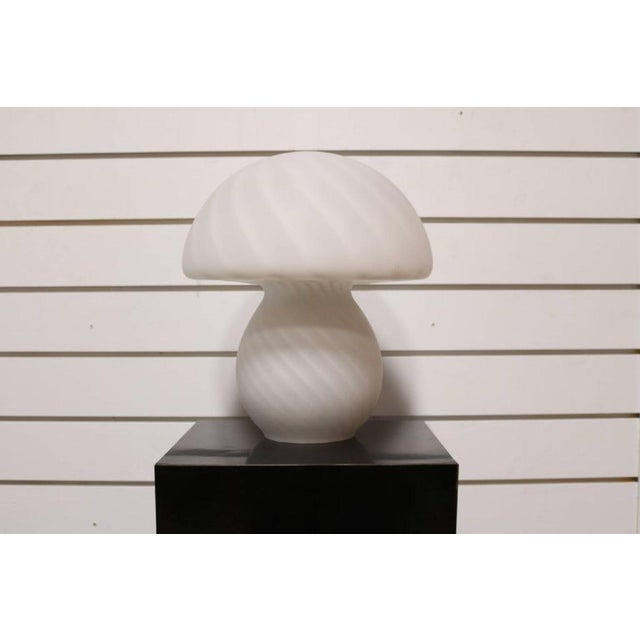 Murano Glass Mushroom Lamp - Image 2 of 7