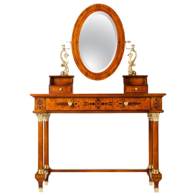 Vanity With Detachable Mirror For Sale - Image 4 of 4