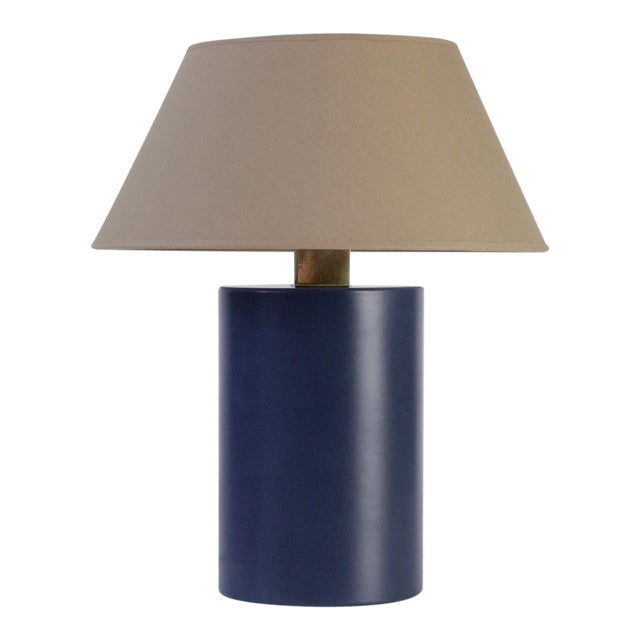 Bolet Midnight Blue & String Table Lamp - Small For Sale