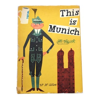 "1961 1st Edition ""This Is Munich"" Children's Book For Sale"