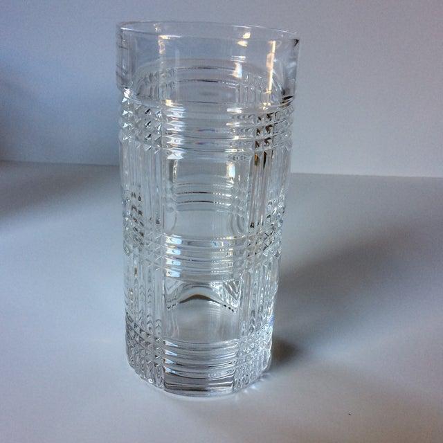 1a94bc0ac535 Ralph Lauren Ralph Lauren Glen Plaid Crystal Highball Glasses - Set of 4  For Sale -