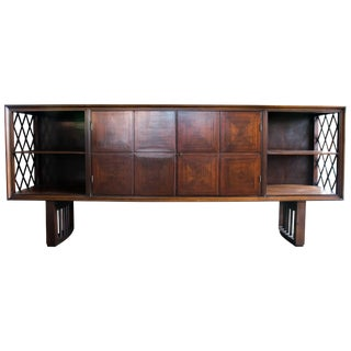 Mid Century Sideboard of Jacaranda Wood, Brazil, 1950s For Sale