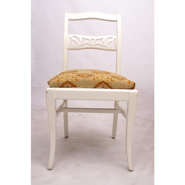 Blonde & White Dinette Set - Image 4 of 5