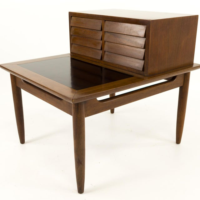 Mid-Century Modern Mid Century Modern Merton Gershun for American of Martinsville Nightstand For Sale - Image 3 of 10