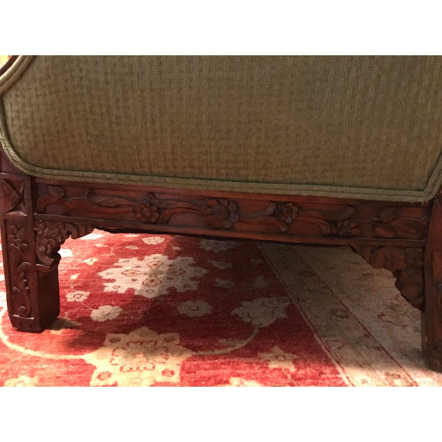 Chippendale Carved Mahogany Sofa - Image 8 of 11