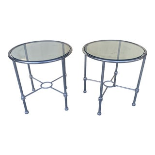 Postmodern Aluminum Round Tables For Sale