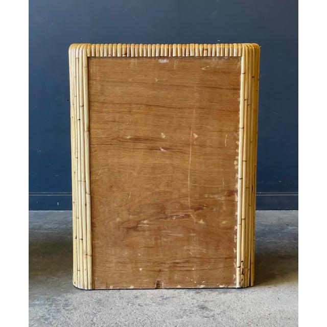 1950s Rattan Dresser For Sale - Image 5 of 9