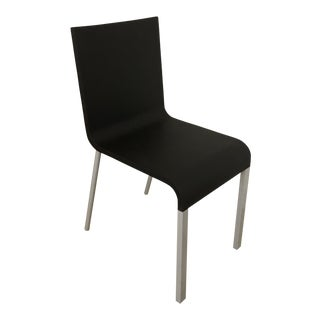 Vitra .03 Black Dining / Office Chairs - Set of 8 For Sale