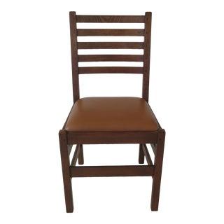 Stickley Mission Oak Desk Chair For Sale