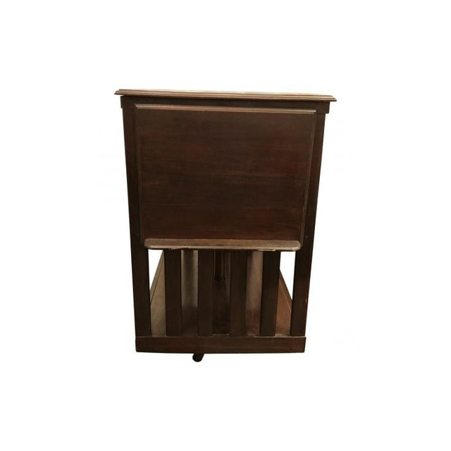 20th Century Traditional Swivel Bookcase For Sale In Los Angeles - Image 6 of 8