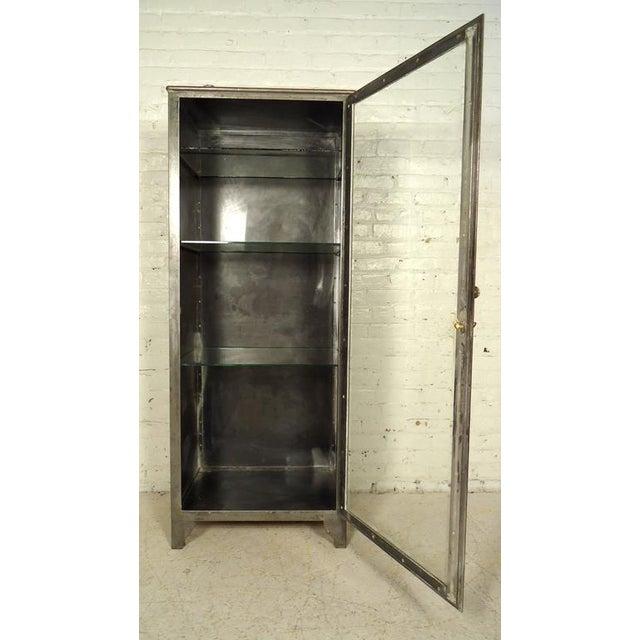 Industrial Metal Display Cabinet - Image 9 of 9