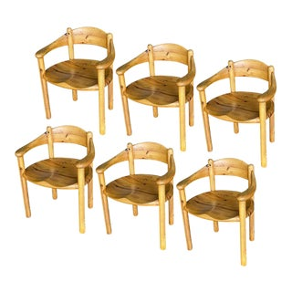 Chairs by Rainer Daumiller for Hirtshals Sawmills, 1960s, Set of 6 or 7 For Sale